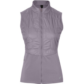 asics Winter Vest Women lavender grey